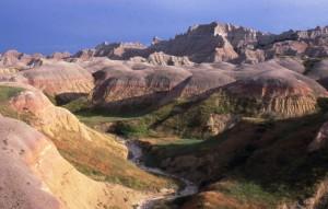 Badlands  sceneria